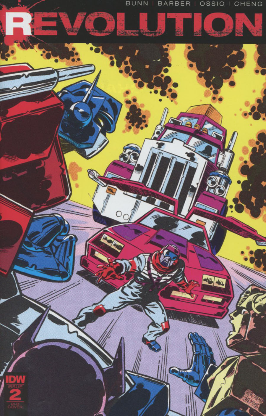 Revolution #2 Cover G Incentive Guido Guidi Variant Cover