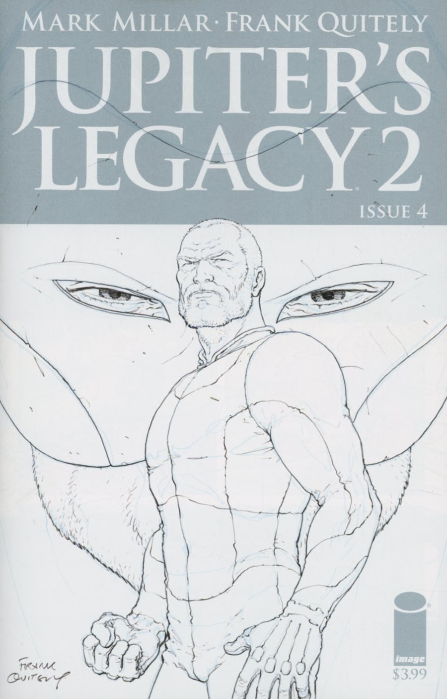 Jupiters Legacy Vol 2 #4 Cover B Incentive Frank Quitely Sketch Cover
