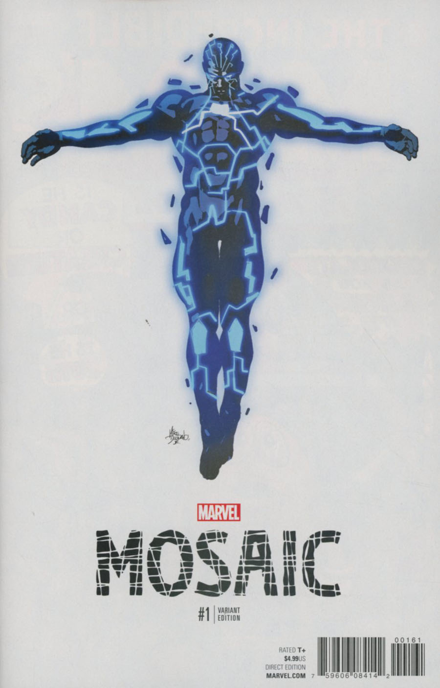 Mosaic #1 Cover E Incentive Mike Deodato Jr Teaser Variant Cover (Marvel Now Tie-In)