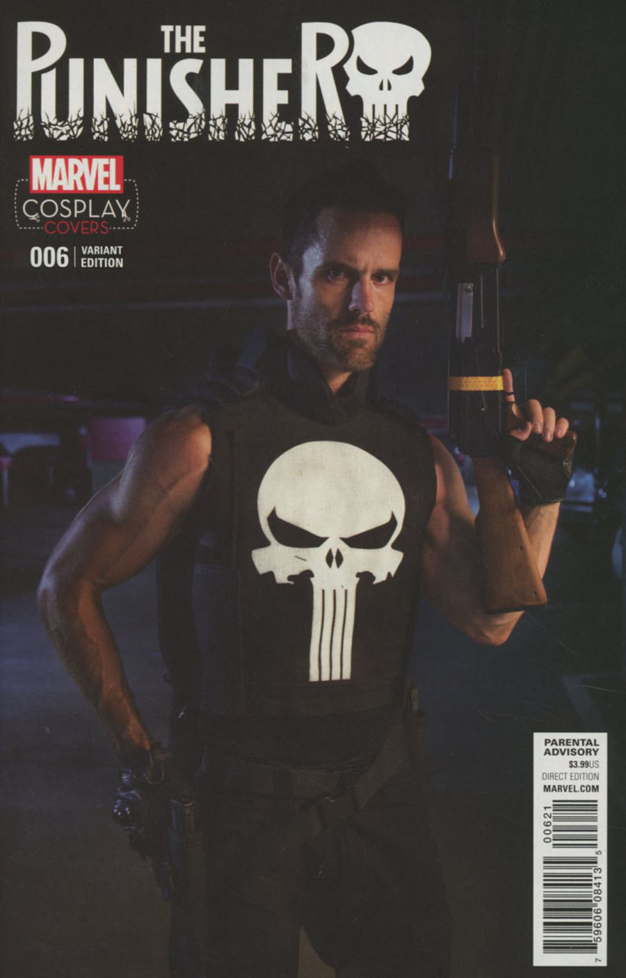 Punisher Vol 10 #6 Cover B Incentive Cosplay Variant Cover