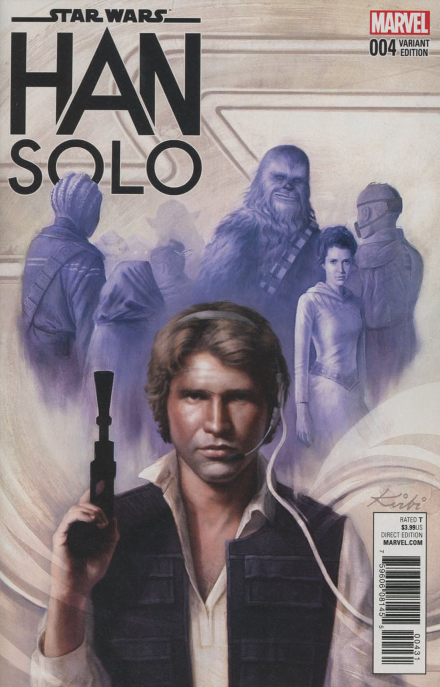 Star Wars Han Solo #4 Cover D Incentive Kirbi Fagan Variant Cover