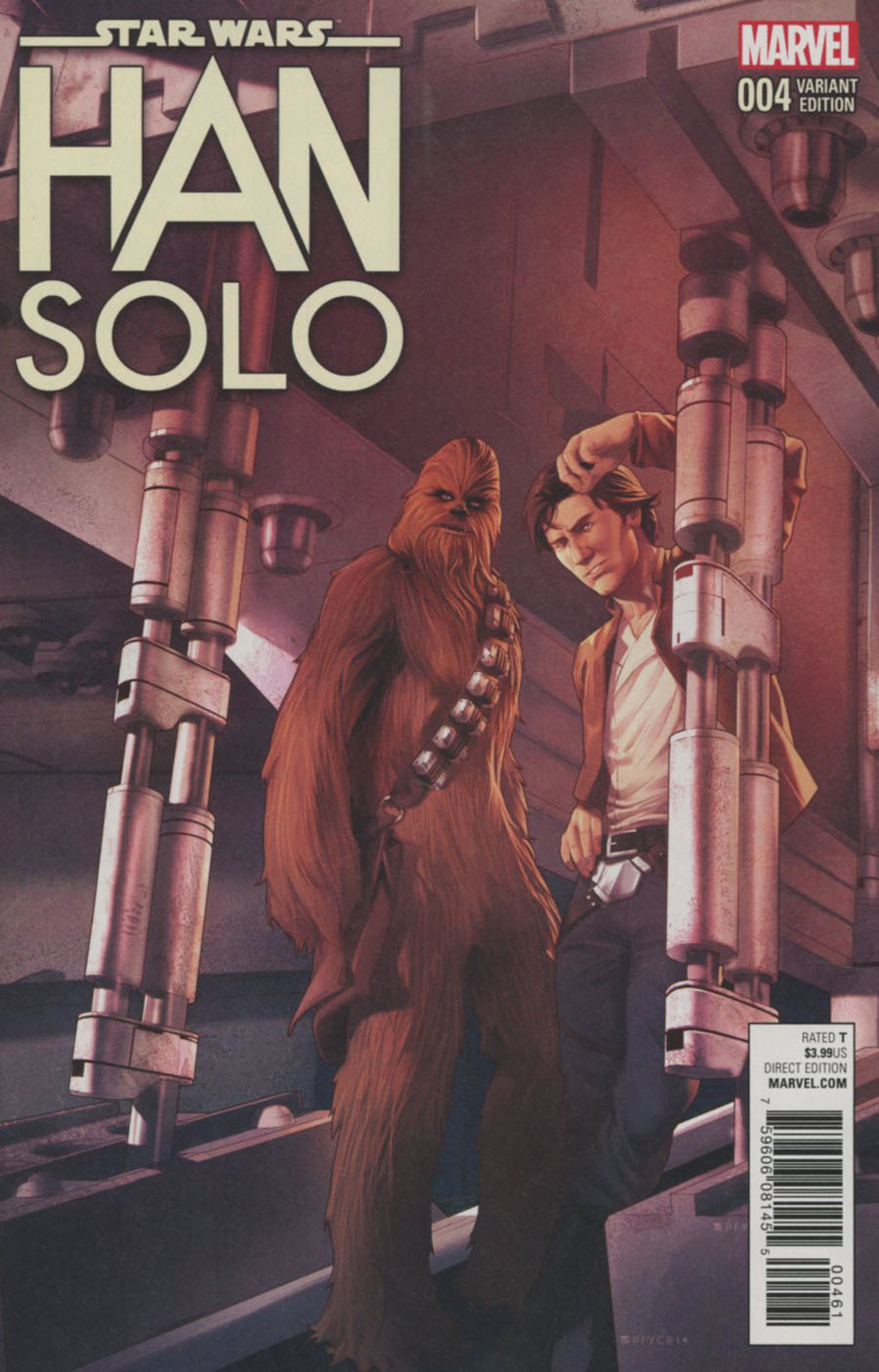 Star Wars Han Solo #4 Cover F Incentive Jamal Campbell Variant Cover