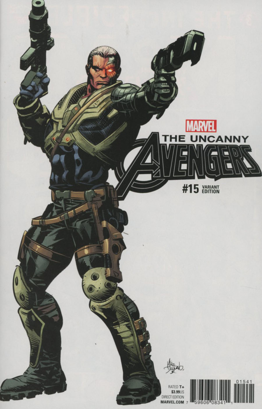 Uncanny Avengers Vol 3 #15 Cover C Incentive Mike Deodato Jr Teaser Variant Cover (Marvel Now Tie-In)