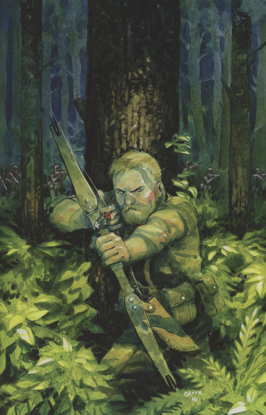 Warlords Of Appalachia #1 Cover C Incentive Tyler Crook Virgin Variant Cover