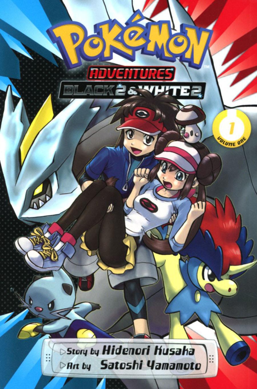 Pokemon Adventures Black 2 & White 2 Vol 1 GN