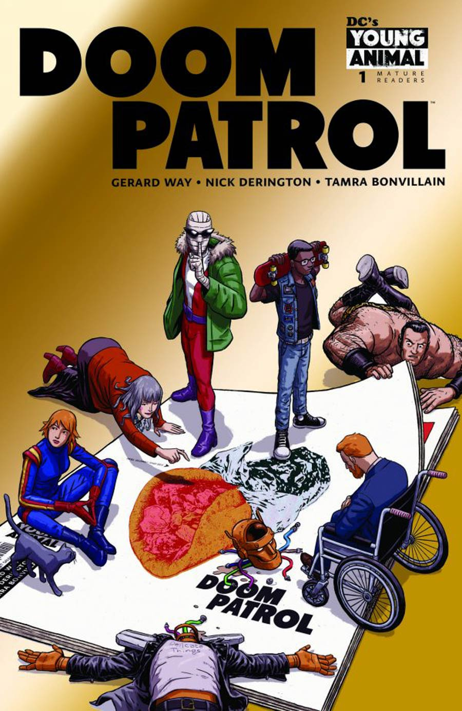 Doom Patrol Vol 6 #1 Cover G NYCC Exclusive Chrome Variant Cover
