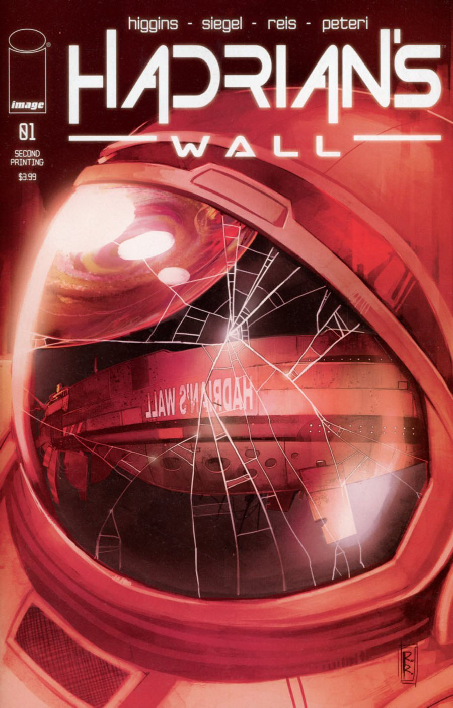 Hadrians Wall #1 Cover B 2nd Ptg Rod Reis Variant Cover