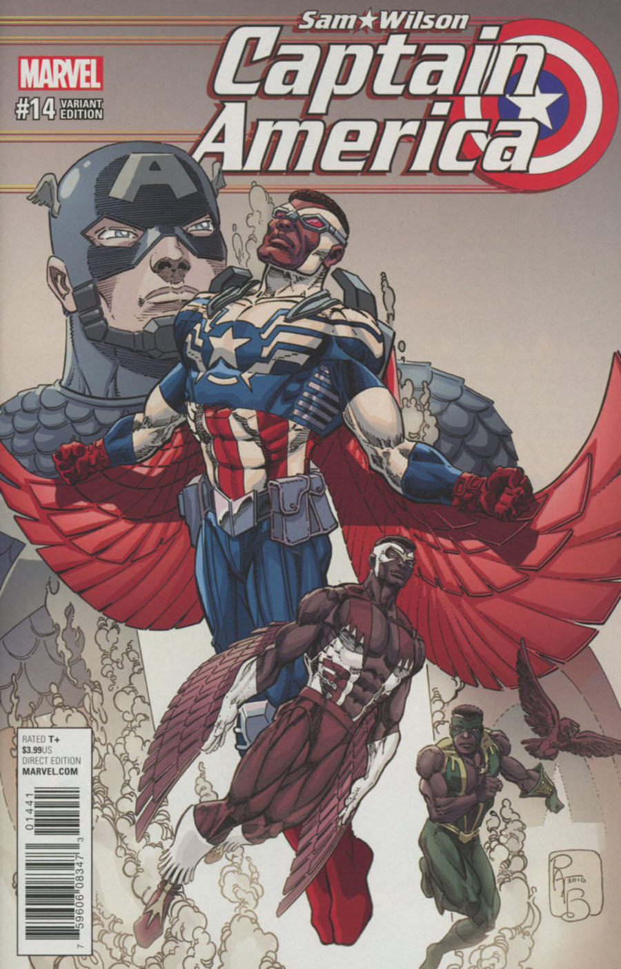 Captain America Sam Wilson #14 Cover D Incentive Classic Variant Cover (Marvel Now Tie-In)