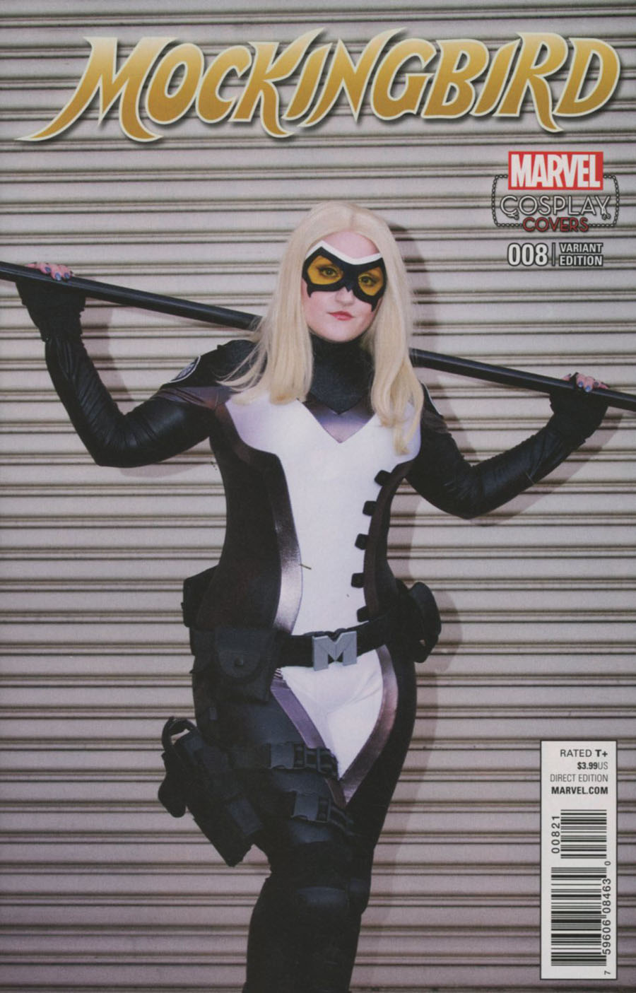 Mockingbird #8 Cover B Incentive Cosplay Variant Cover (Civil War II Tie-In)