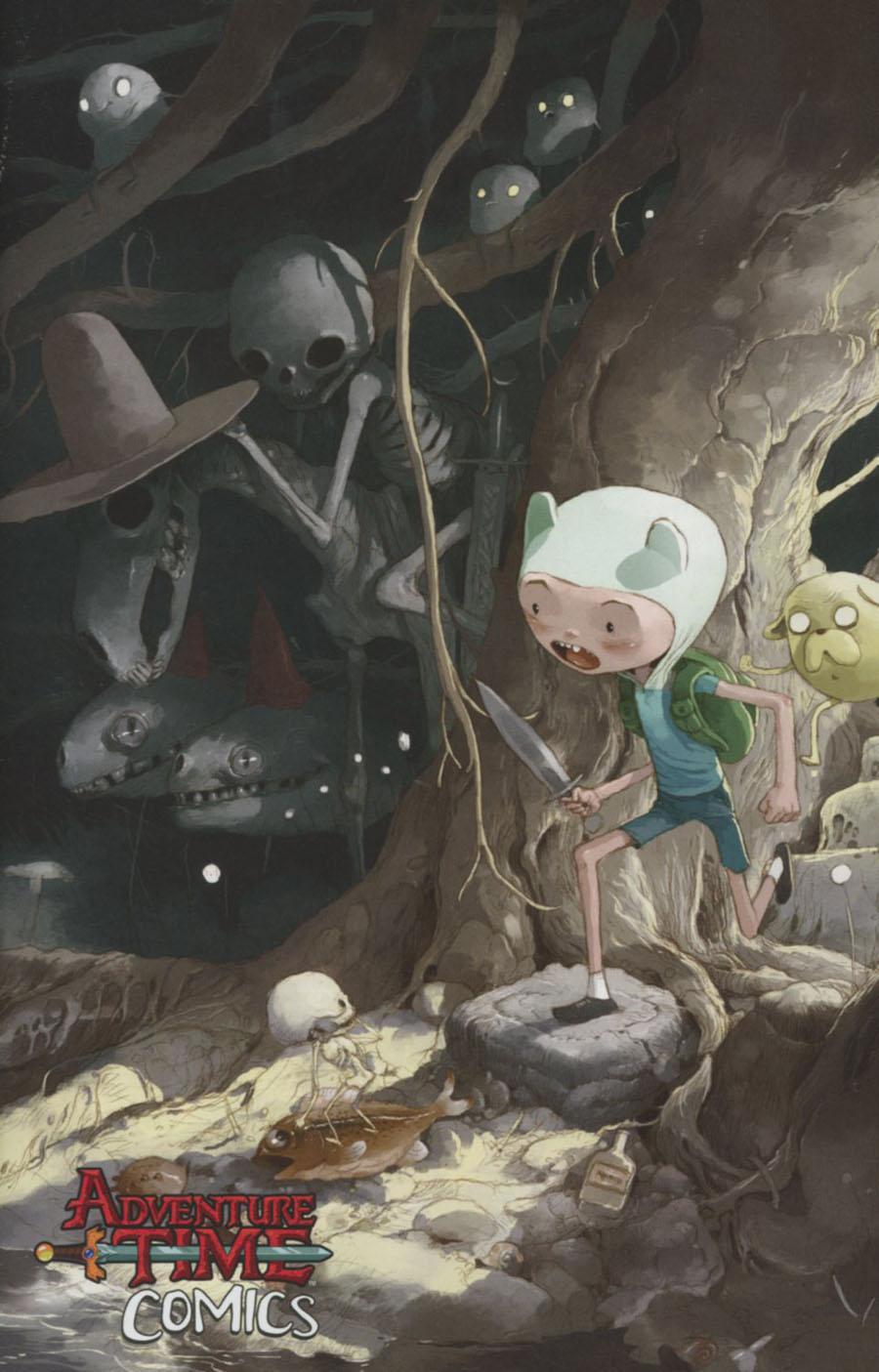 Adventure Time Comics #4 Cover C Incentive Antonio Sandoval Virgin Variant Cover