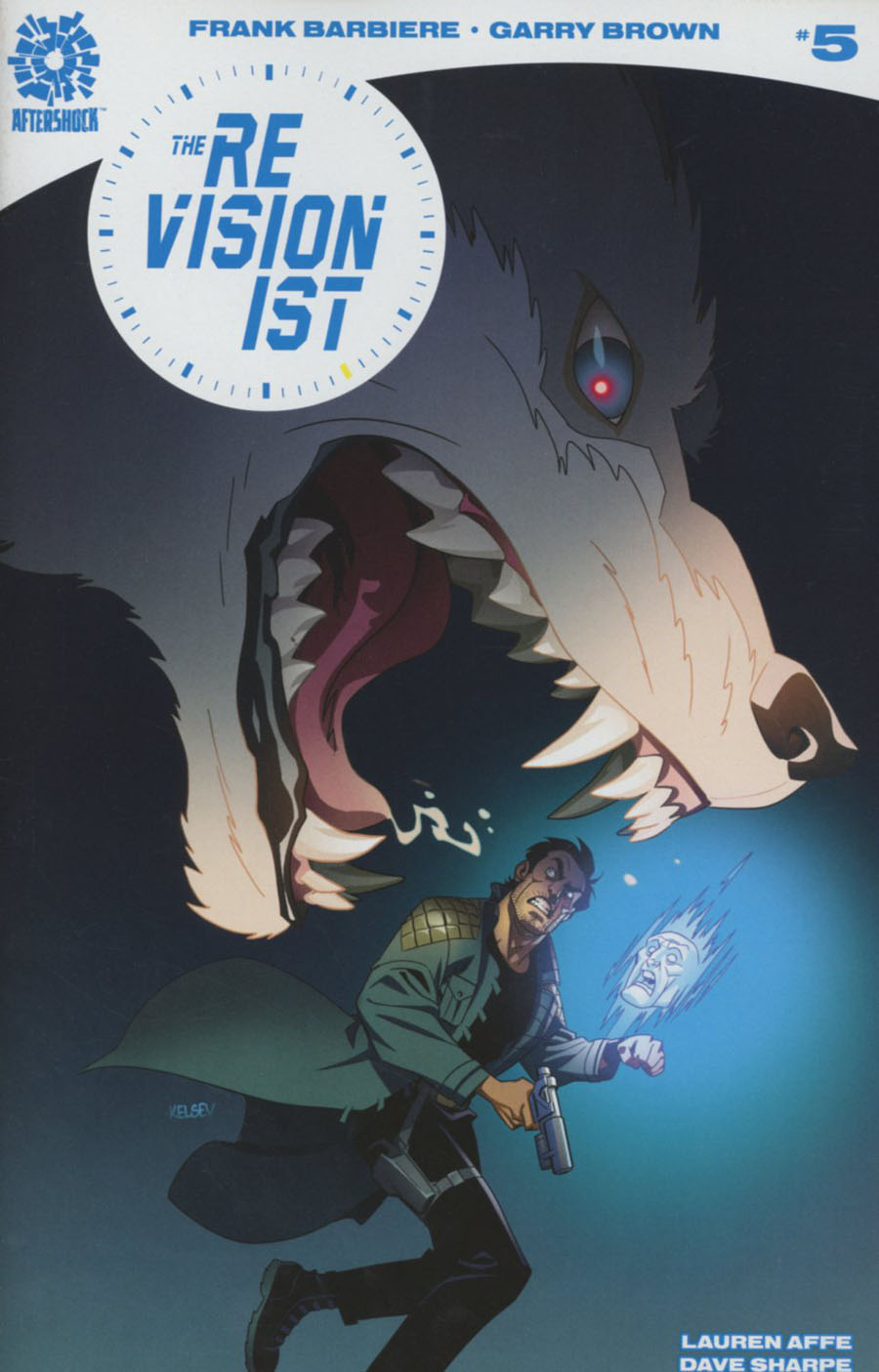 Revisionist #5 Cover B Incentive Kelsey Shannon Horror Variant Cover