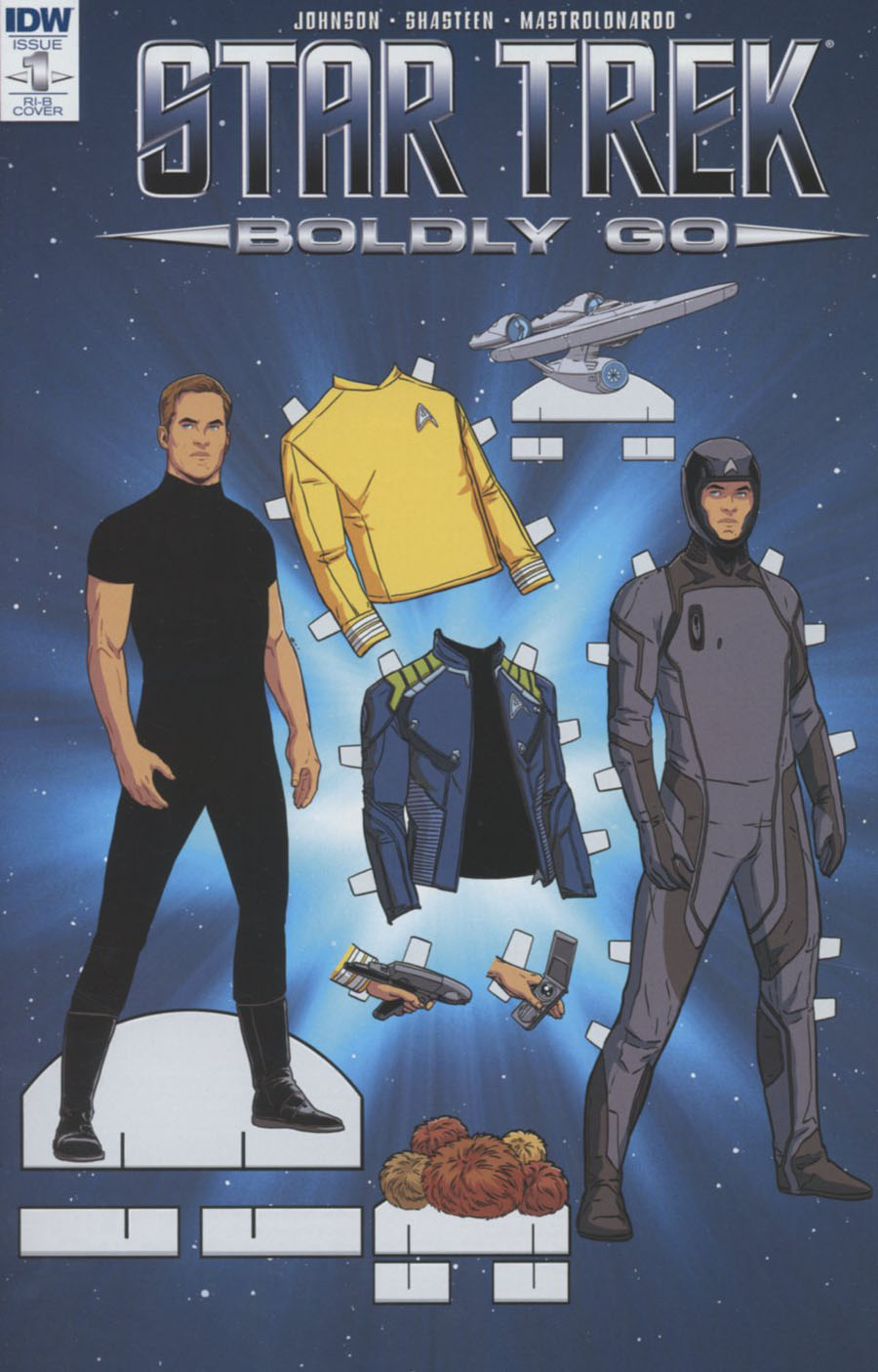 Star Trek Boldly Go #1 Cover F Incentive Marc Laming Variant Cover