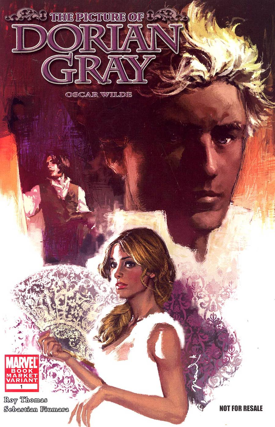 Marvel Illustrated Picture Of Dorian Gray #1 Cover B Book Market Variant