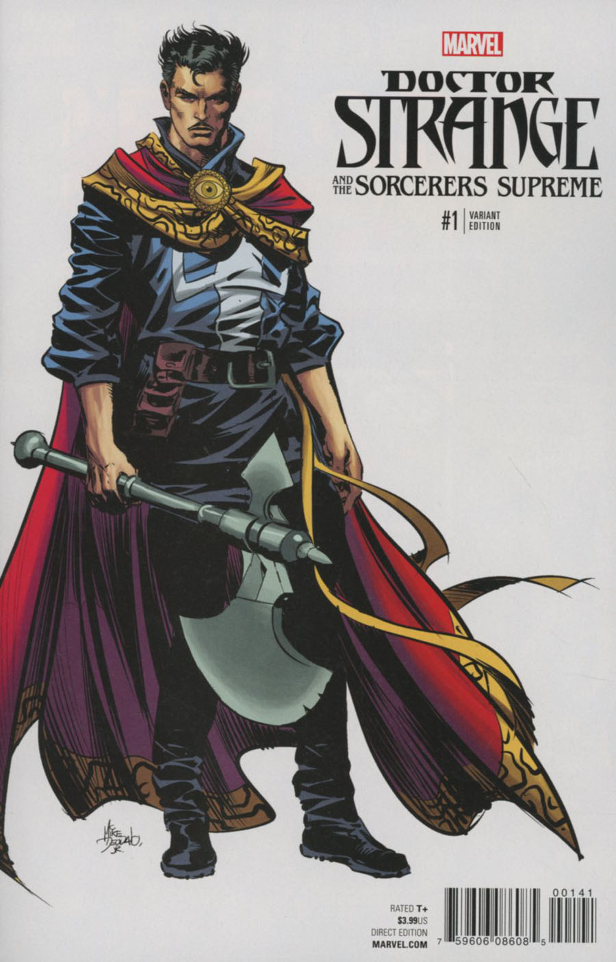 Doctor Strange And The Sorcerers Supreme #1 Cover G Incentive Mike Deodato Jr Teaser Variant Cover (Marvel Now Tie-In)