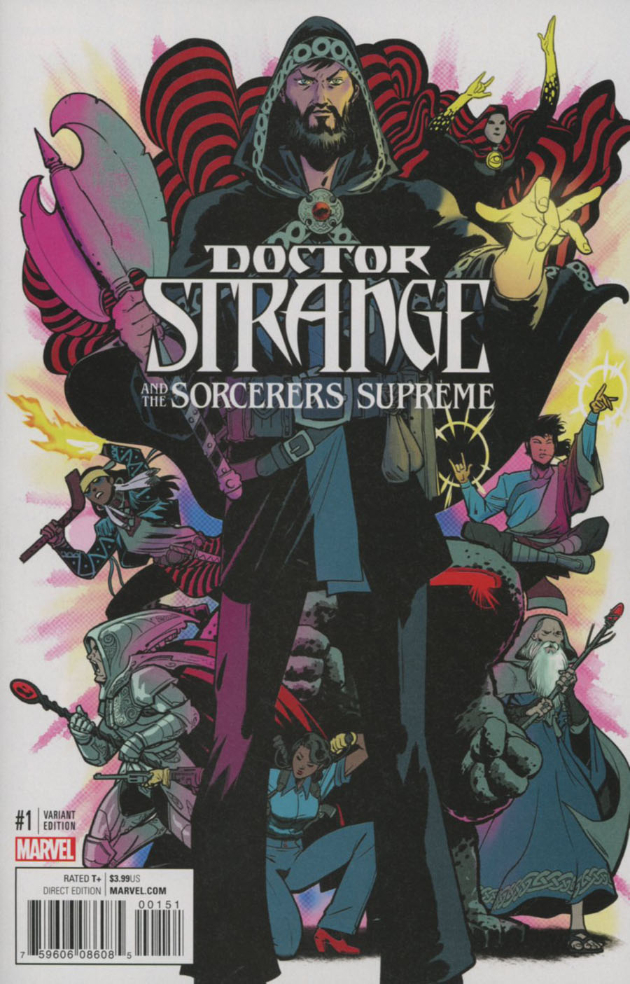 Doctor Strange And The Sorcerers Supreme #1 Cover I Incentive Javier Rodriguez Variant Cover (Marvel Now Tie-In)