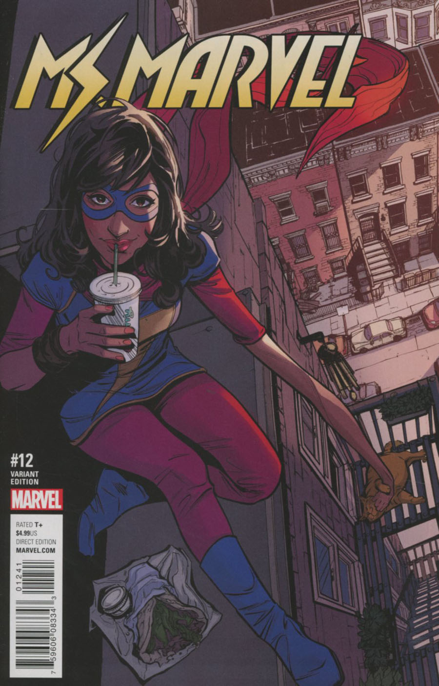 Ms Marvel Vol 4 #12 Cover D Incentive Joelle Jones Variant Cover (Marvel Now Tie-In)