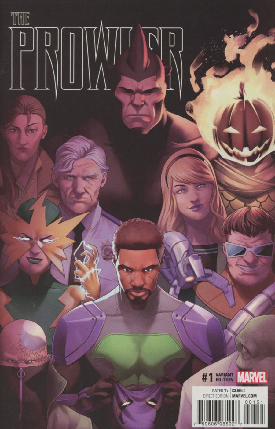 Prowler (Marvel) Vol 2 #1 Cover G Incentive Jamal Campbell Variant Cover (Clone Conspiracy Tie-In)