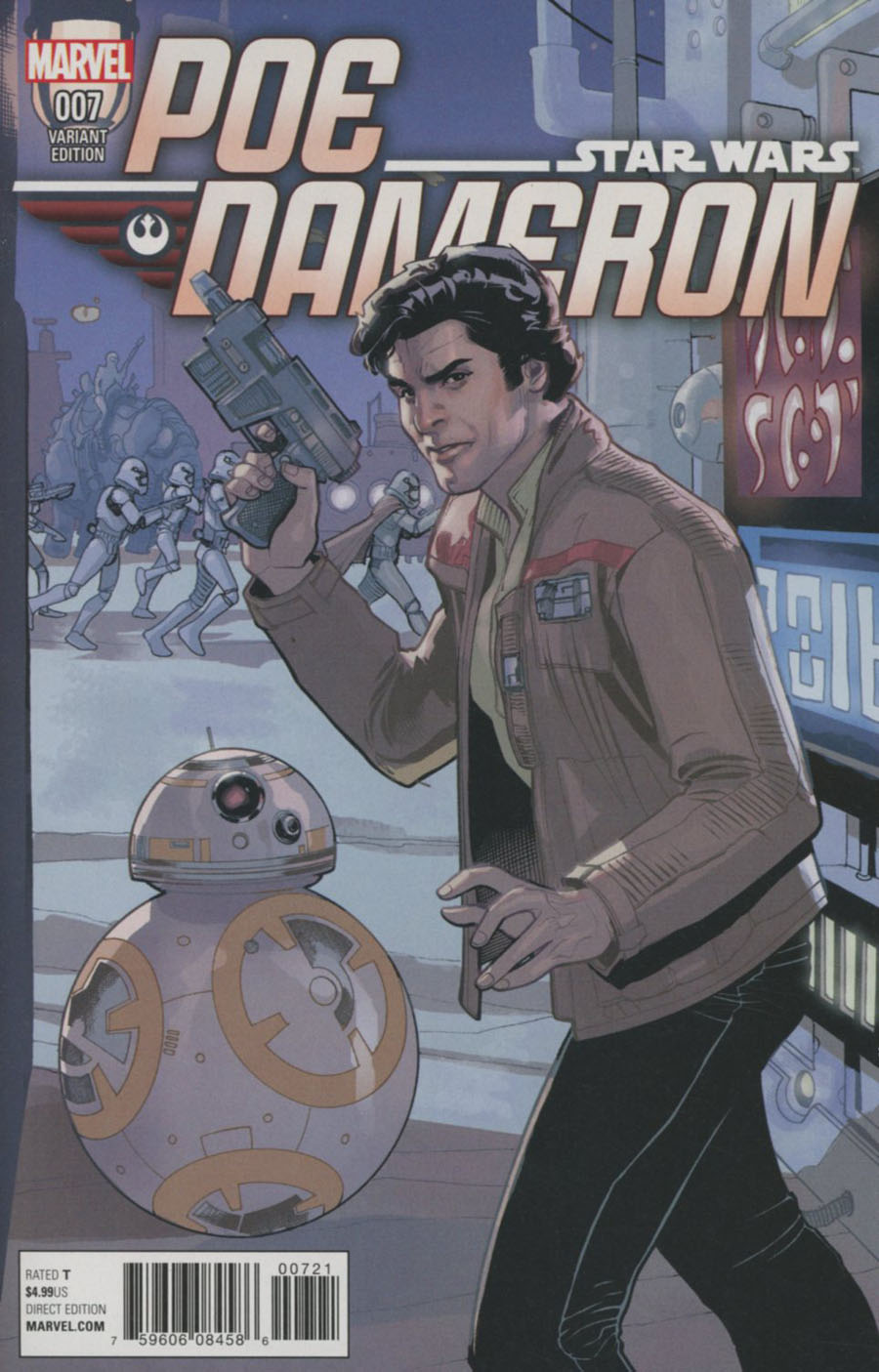 Star Wars Poe Dameron #7 Cover D Incentive Terry Dodson Variant Cover