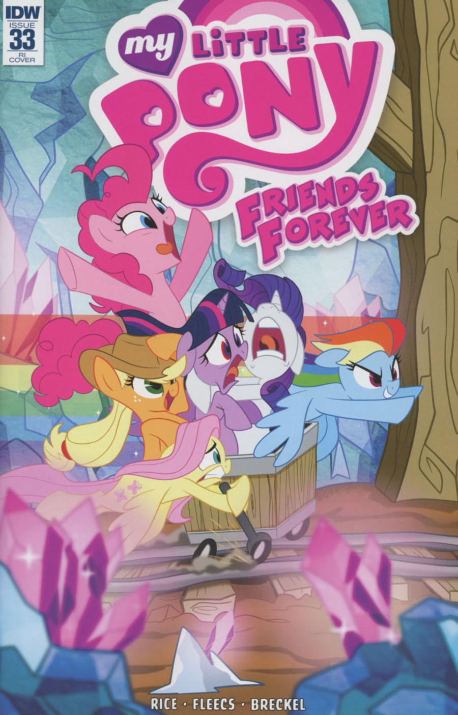 My Little Pony Friends Forever #33 Cover C Incentive Trish Forstner Variant Cover