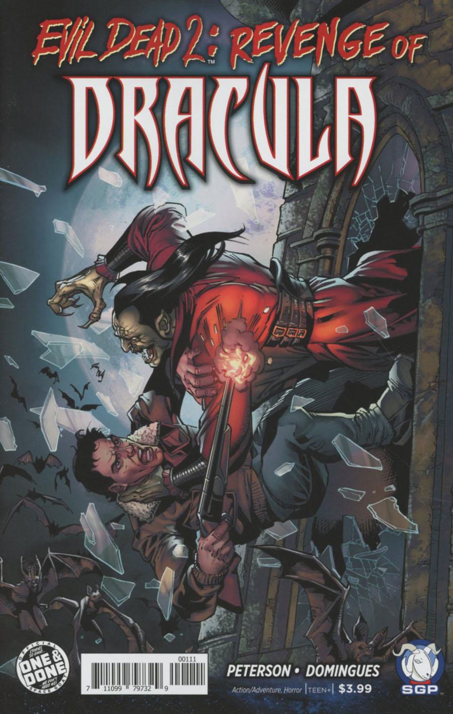 Evil Dead 2 Revenge Of Dracula One Shot Cover A Yvel Guichet & Joe Rubinstein