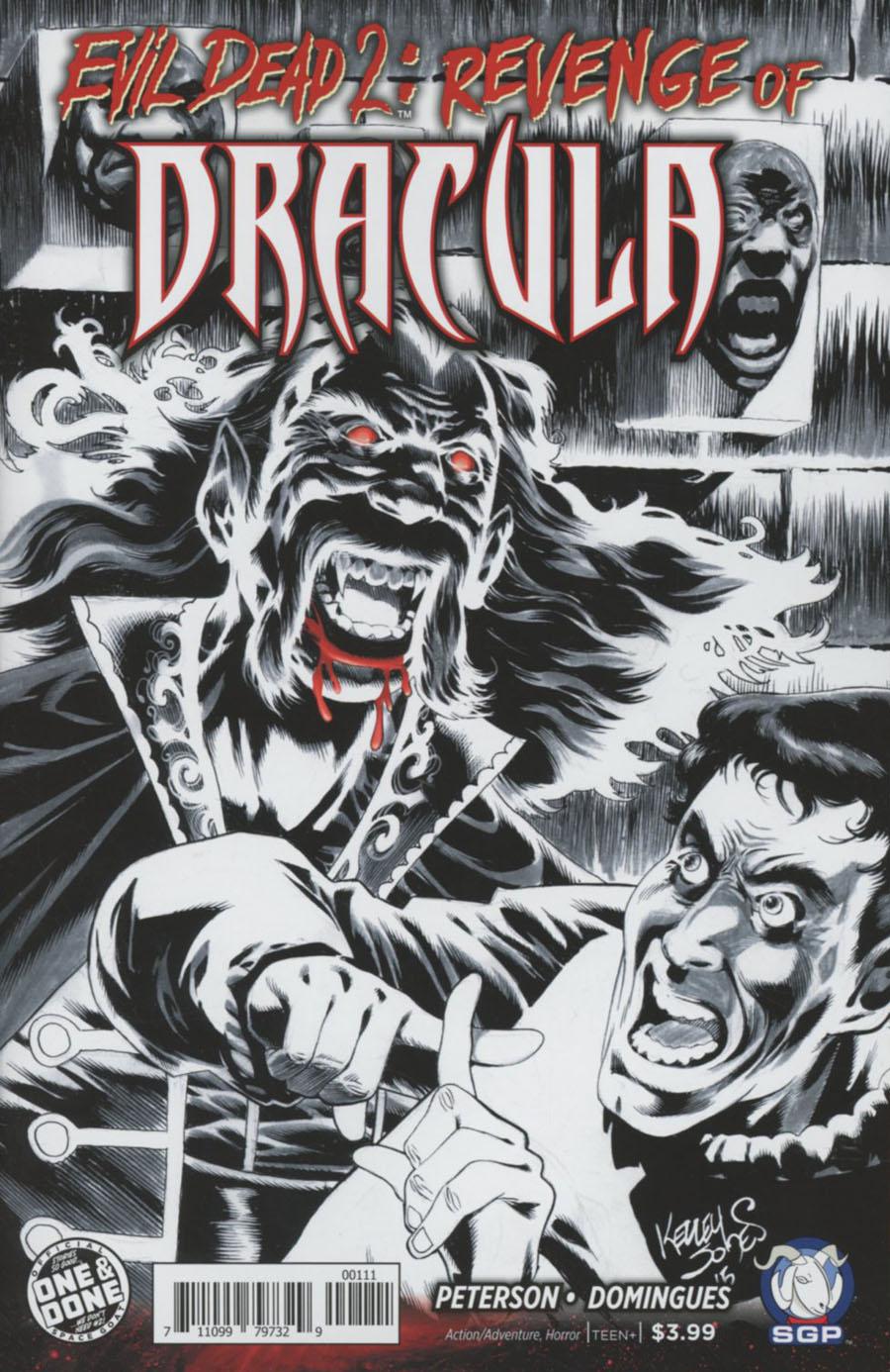Evil Dead 2 Revenge Of Dracula One Shot Cover B Kelley Jones