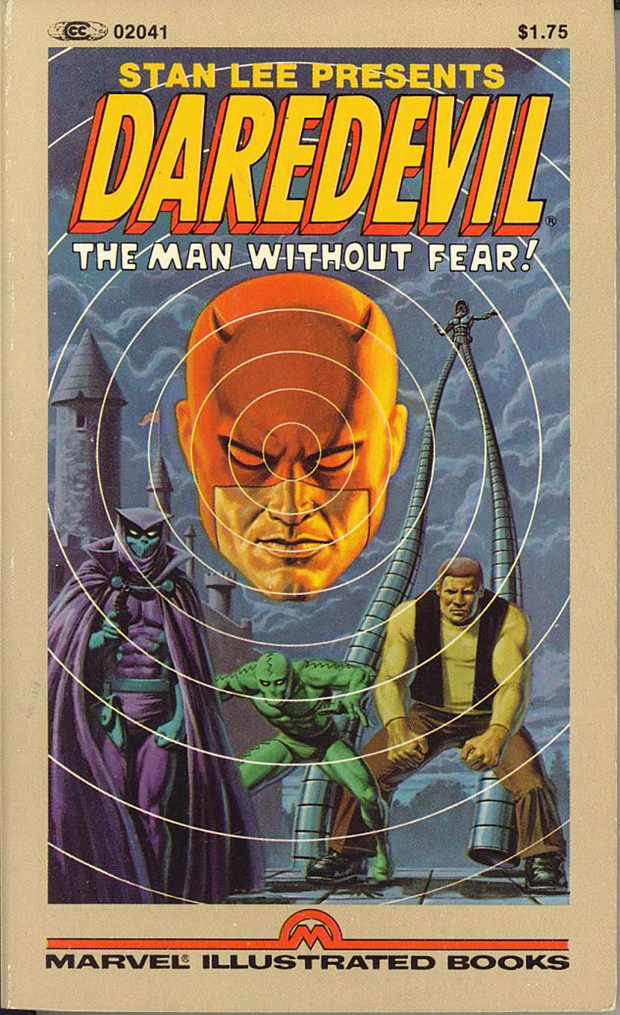 Daredevil The Man Without Fear Marvel Illustrated Book