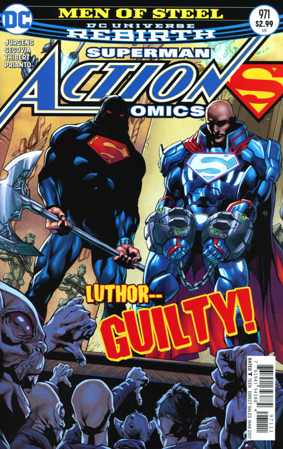 Action Comics Vol 2 #971 Cover A Regular Stephen Segovia & Art Thibert Cover