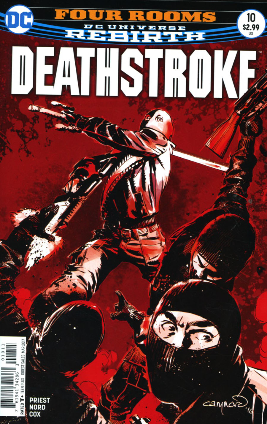 Deathstroke Vol 4 #10 Cover A Regular Cary Nord Cover