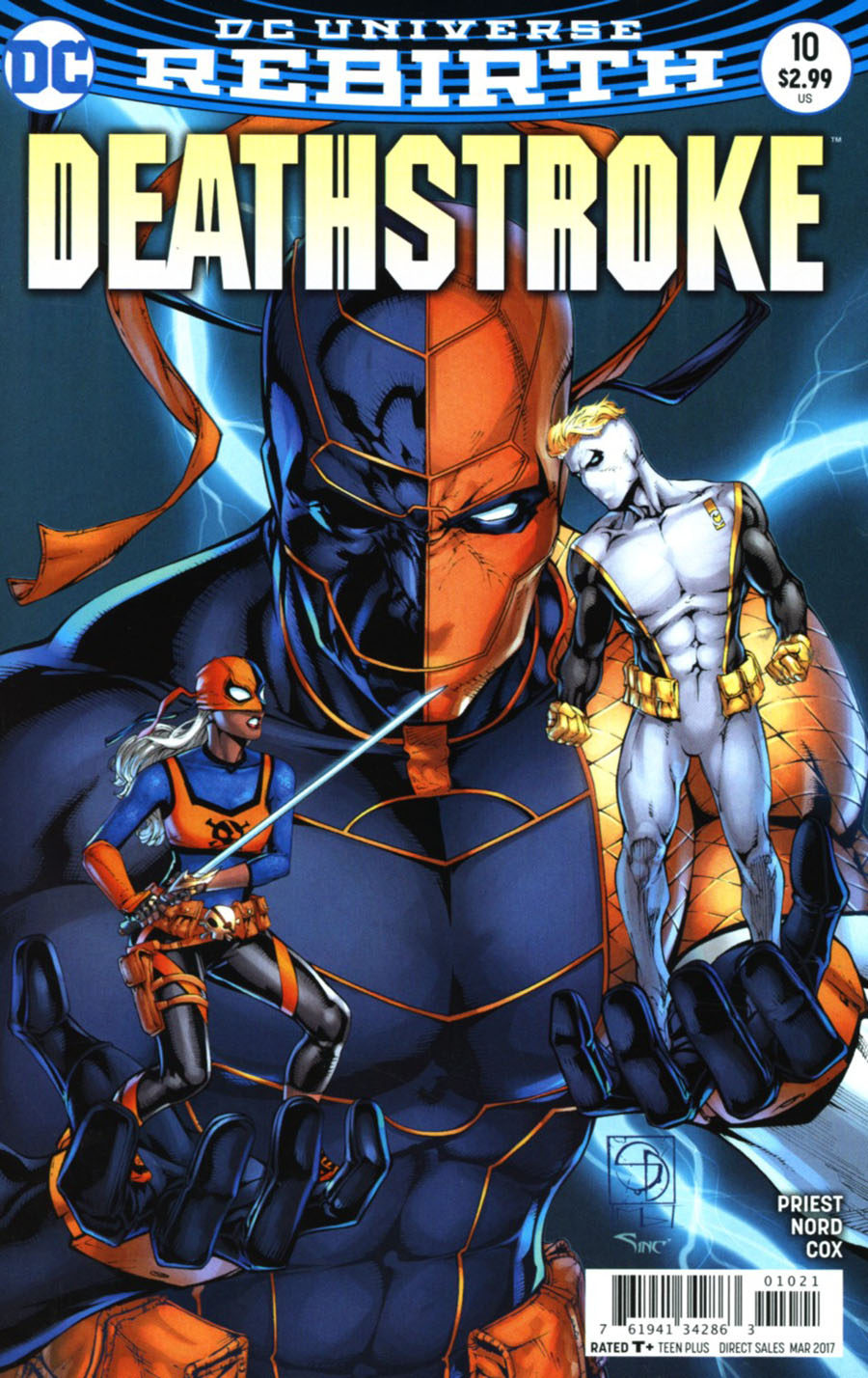 Deathstroke Vol 4 #10 Cover B Variant Shane Davis Cover