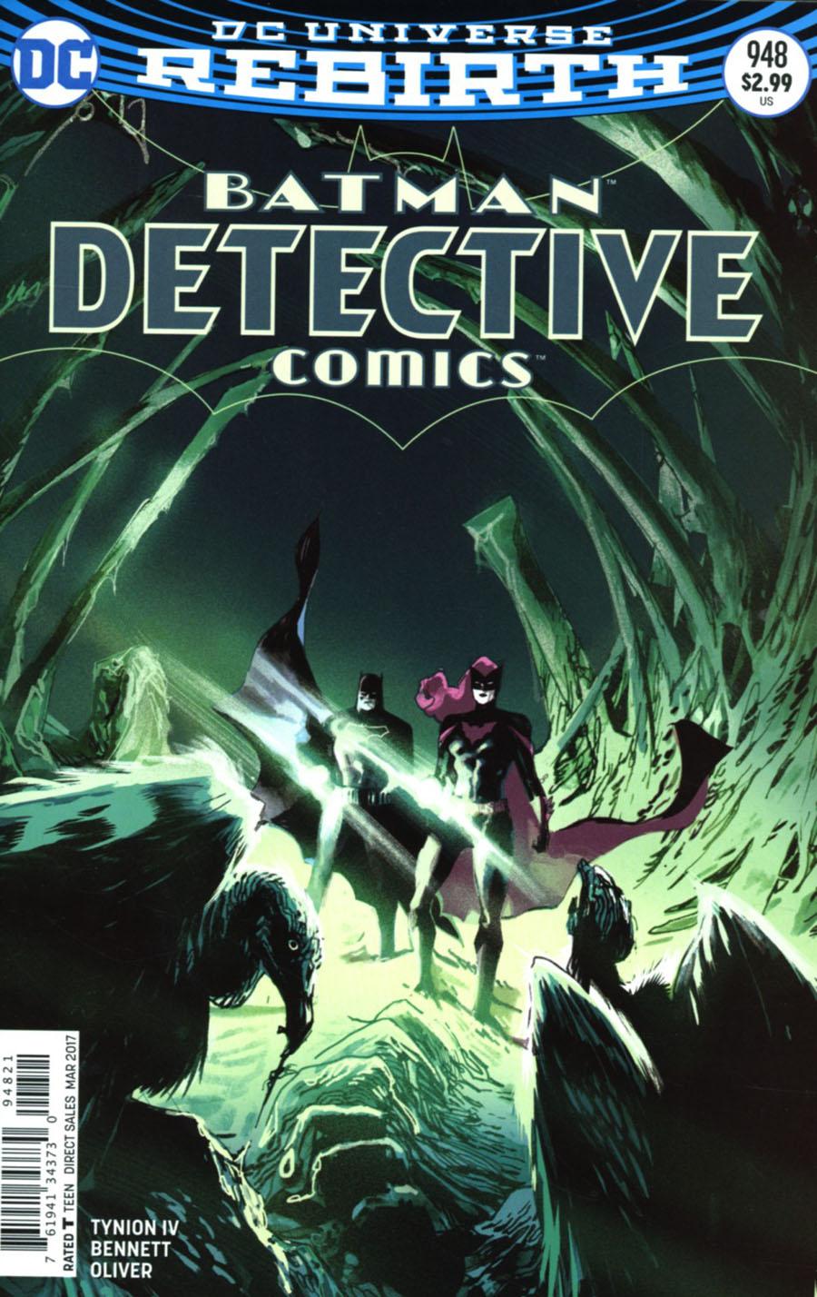 Detective Comics Vol 2 #948 Cover B Variant Rafael Albuquerque Cover