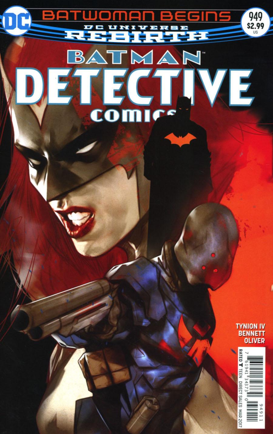 Detective Comics Vol 2 #949 Cover A Regular Ben Oliver Cover