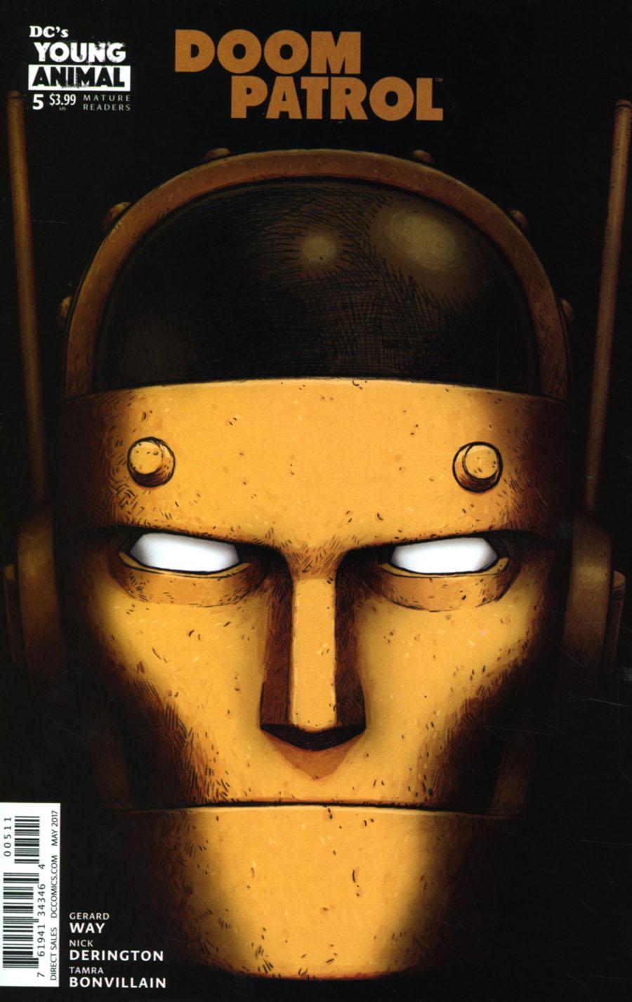 Doom Patrol Vol 6 #5 Cover A Regular Nick Derington Cover