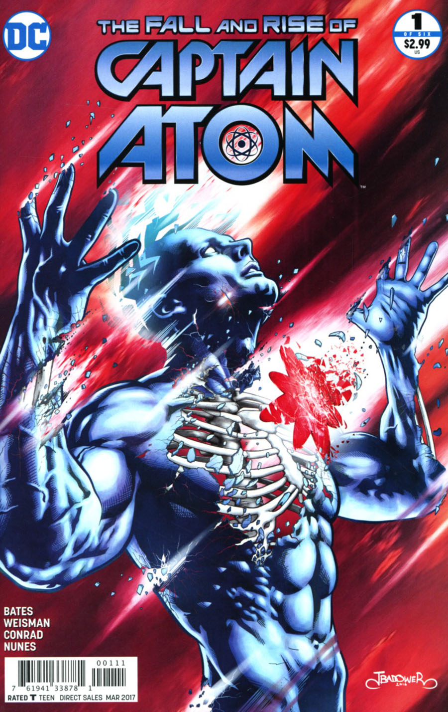 Fall And Rise Of Captain Atom #1 Cover A Regular Jason Badower Cover