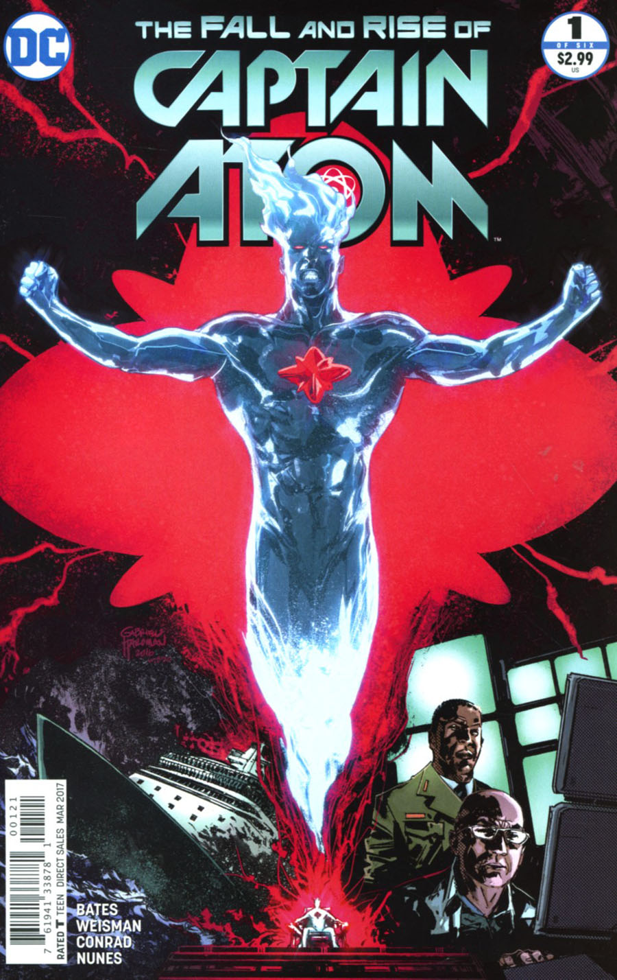 Fall And Rise Of Captain Atom #1 Cover B Variant Gabriel Hardman Cover