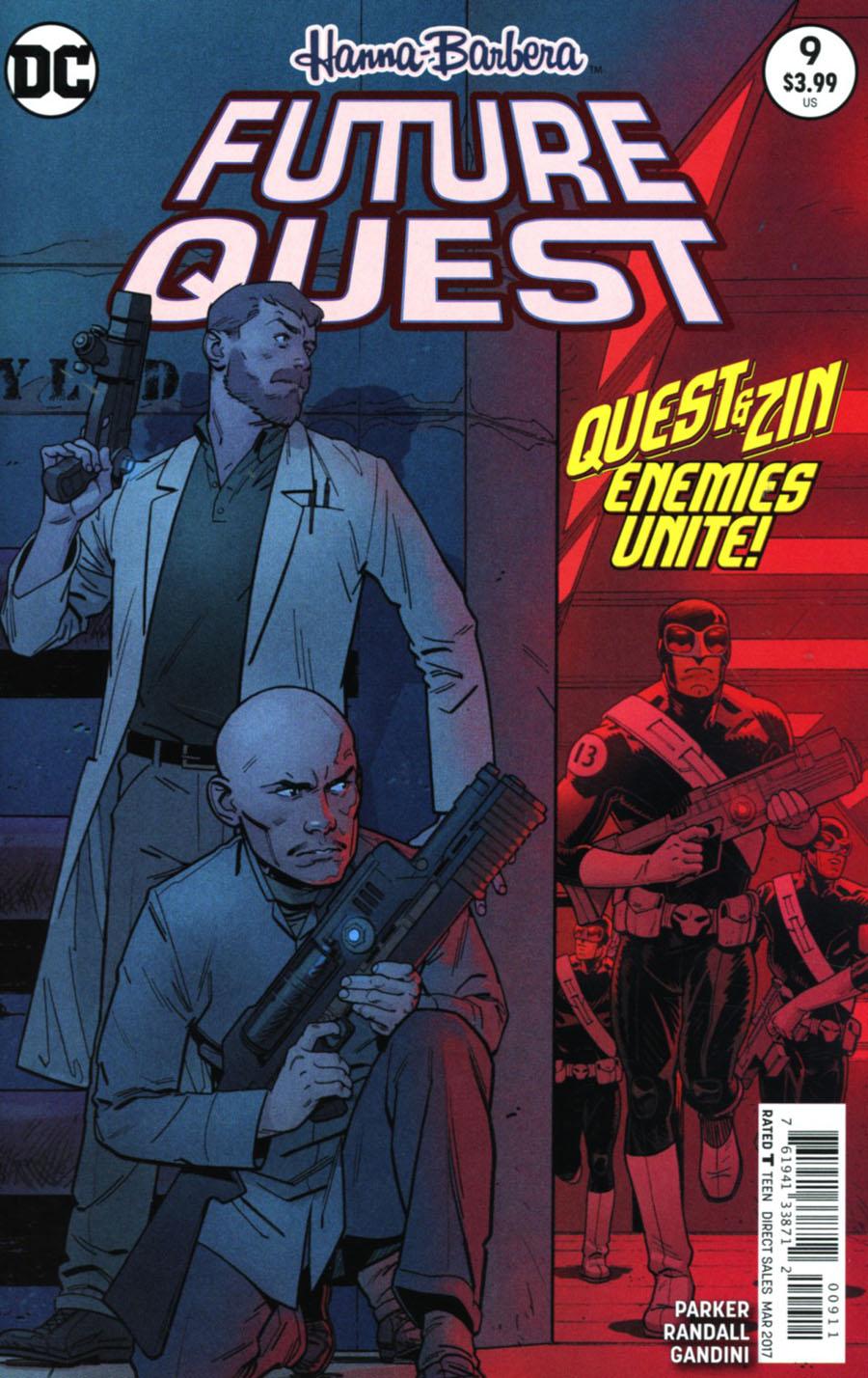 Future Quest #9 Cover A Regular Evan Doc Shaner Cover