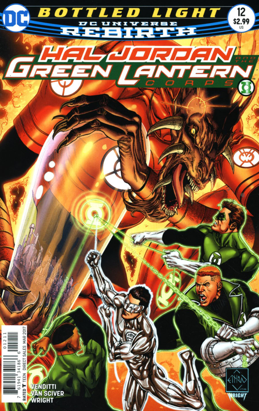 Hal Jordan And The Green Lantern Corps #12 Cover A Regular Ethan Van Sciver Cover