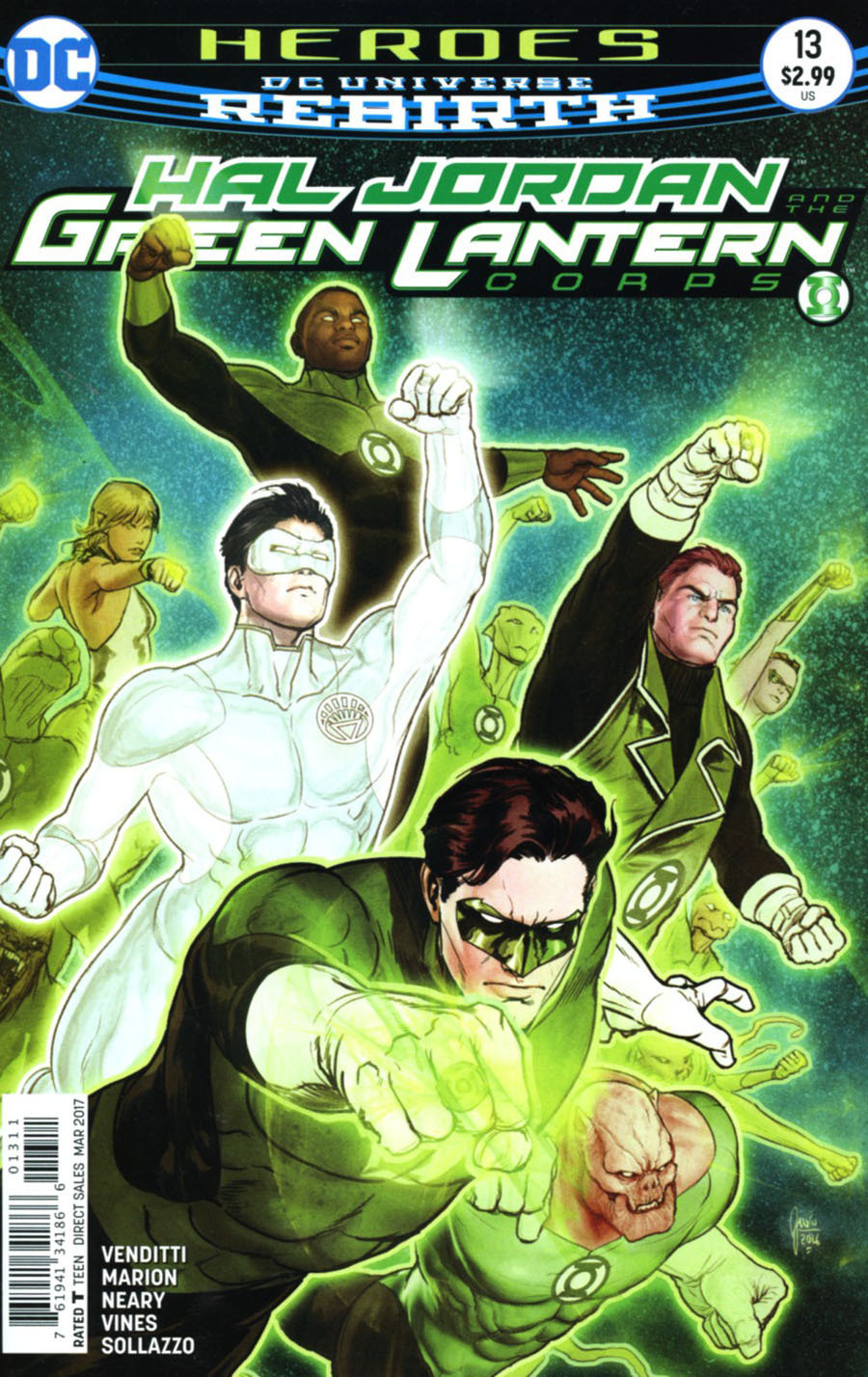 Hal Jordan And The Green Lantern Corps #13 Cover A Regular Ethan Van Sciver Cover