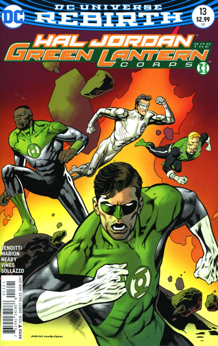 Hal Jordan And The Green Lantern Corps #13 Cover B Variant Kevin Nowlan Cover