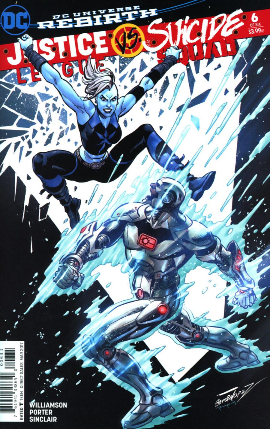 Justice League vs Suicide Squad #6 Cover C Variant Jose Luis Garcia-Lopez Suicide Squad Cover
