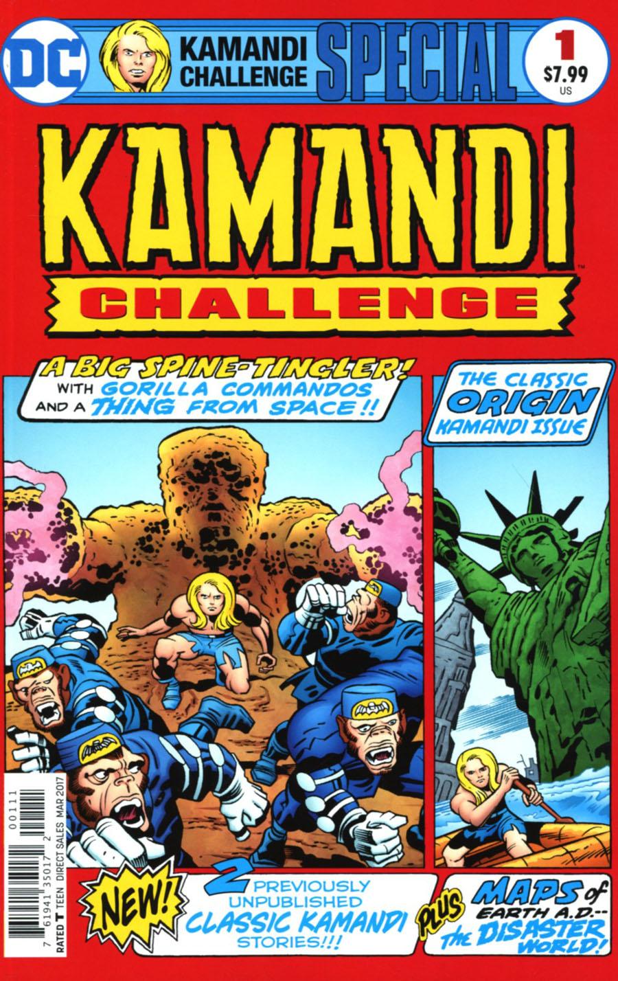 Kamandi Challenge Special #1