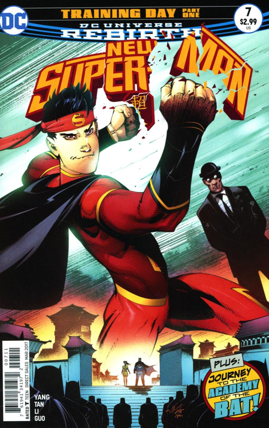 New Super-Man #7 Cover A Regular Viktor Bogdanovic Cover