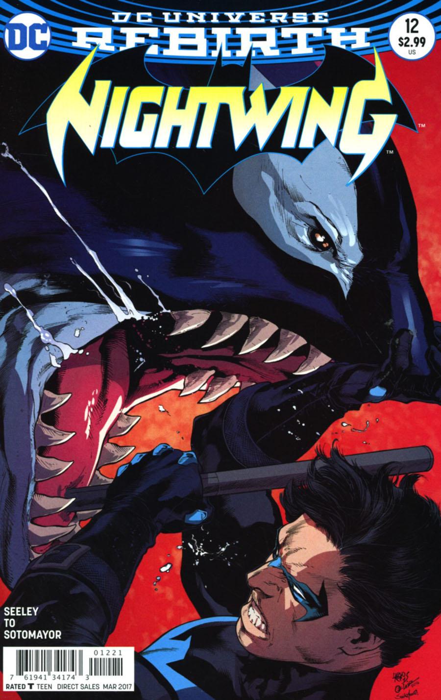 Nightwing Vol 4 #12 Cover B Variant Ivan Reis & Oclair Albert Cover