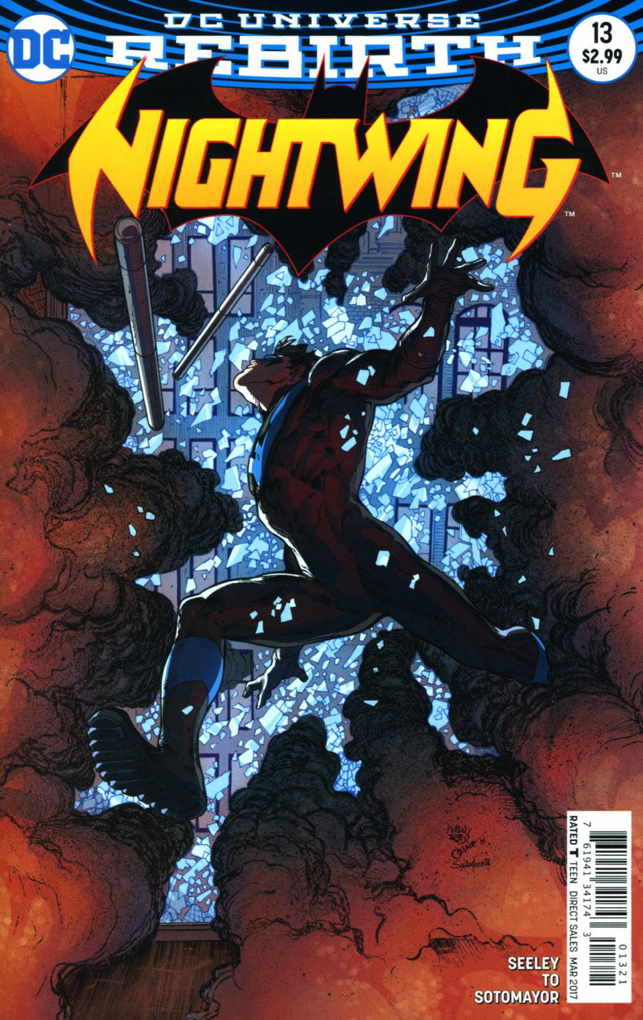 Nightwing Vol 4 #13 Cover B Variant Ivan Reis & Oclair Albert Cover