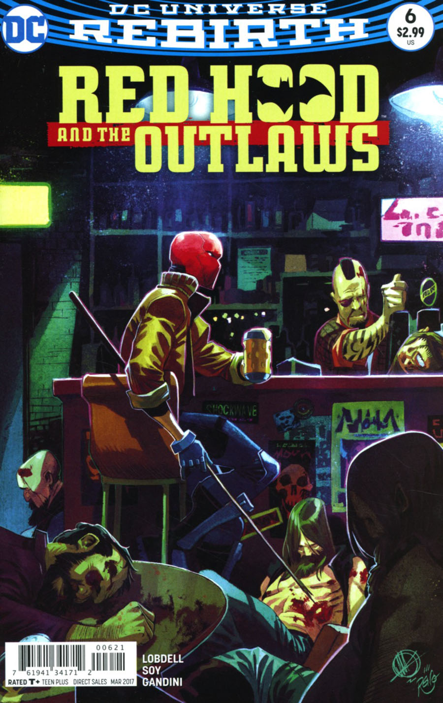 Red Hood And The Outlaws Vol 2 #6 Cover B Variant Matteo Scalera Cover