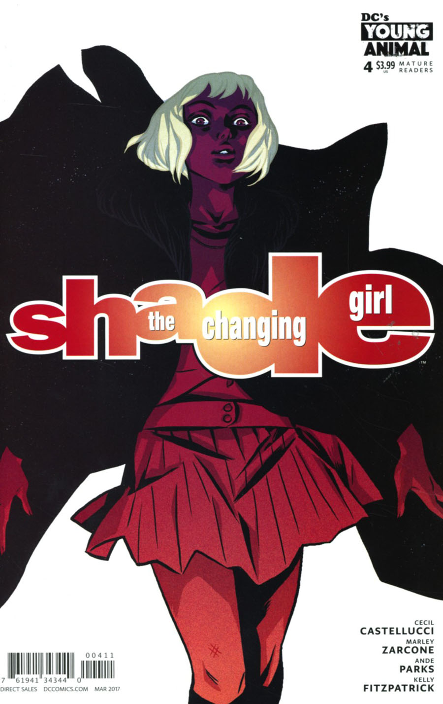 Shade The Changing Girl #4 Cover A Regular Becky Cloonan Cover