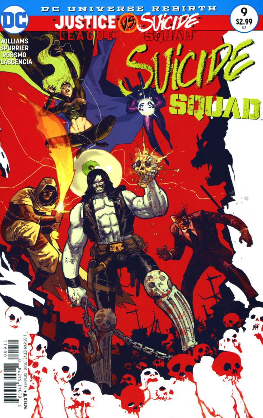Suicide Squad Vol 4 #9 Cover A Regular Riley Rossmo Cover (Justice League vs Suicide Squad Tie-In)