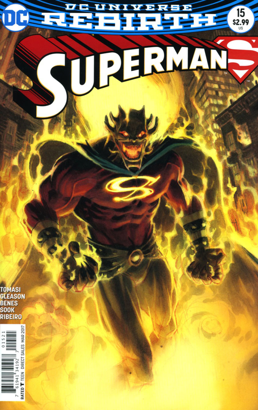Superman Vol 5 #15 Cover B Variant Andrew Robinson Cover