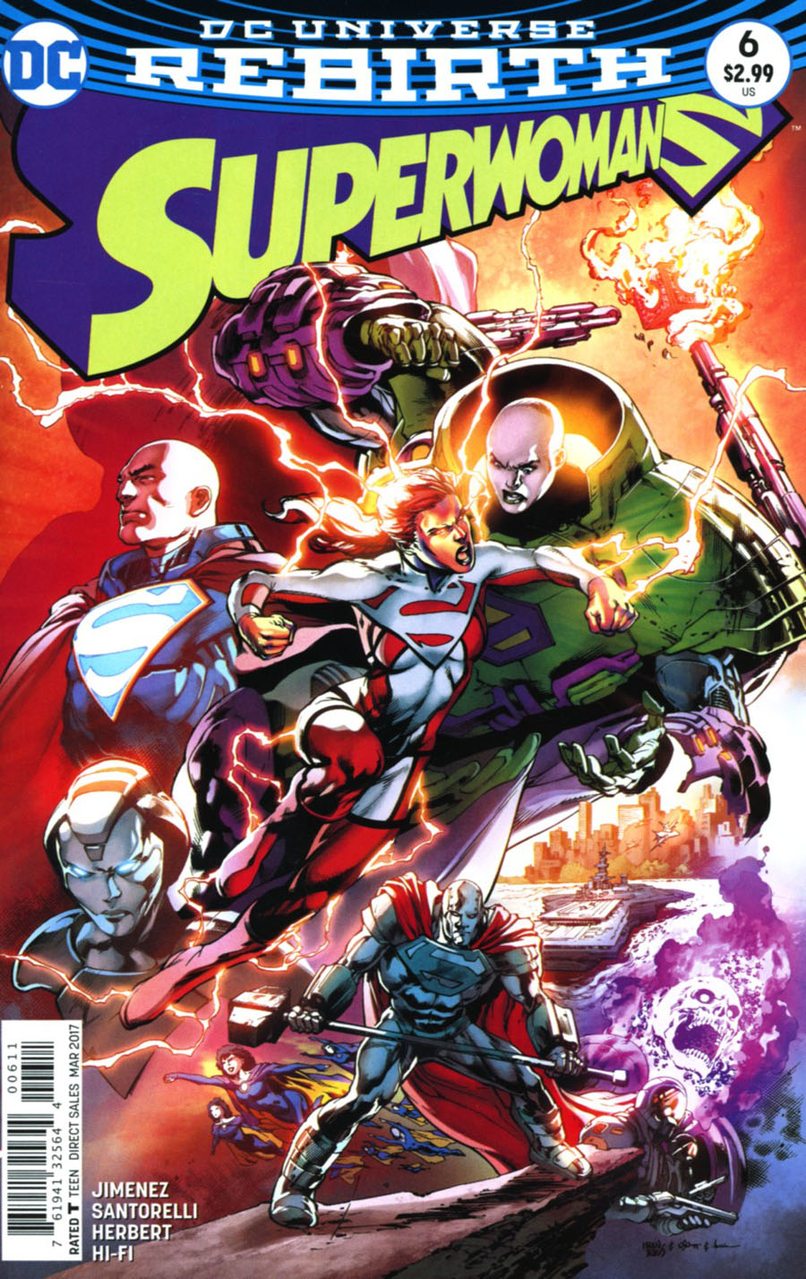 Superwoman #6 Cover A Regular Ivan Reis & Trevor Scott Cover