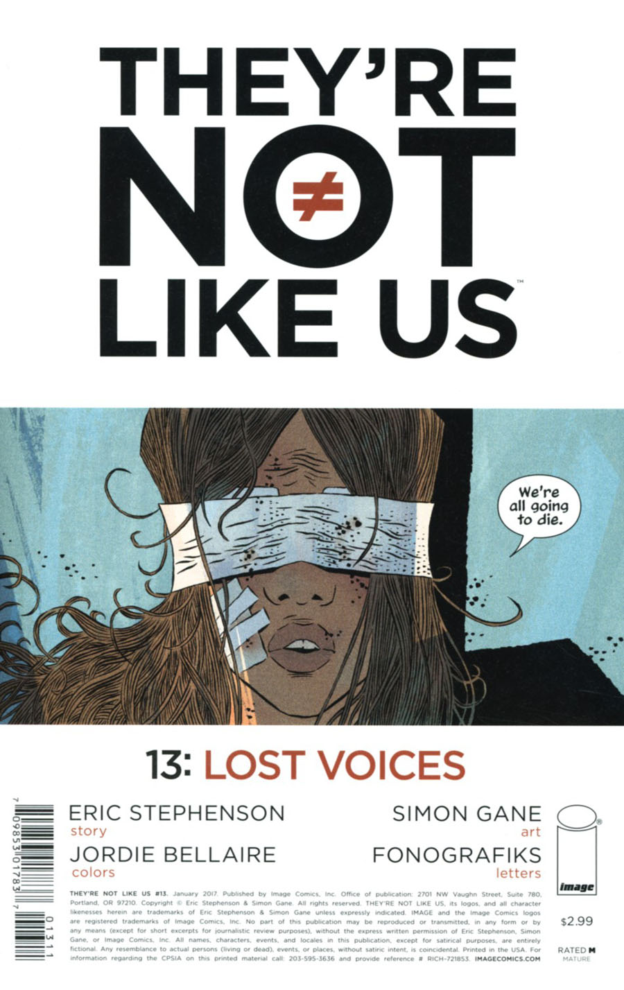 Theyre Not Like Us #13