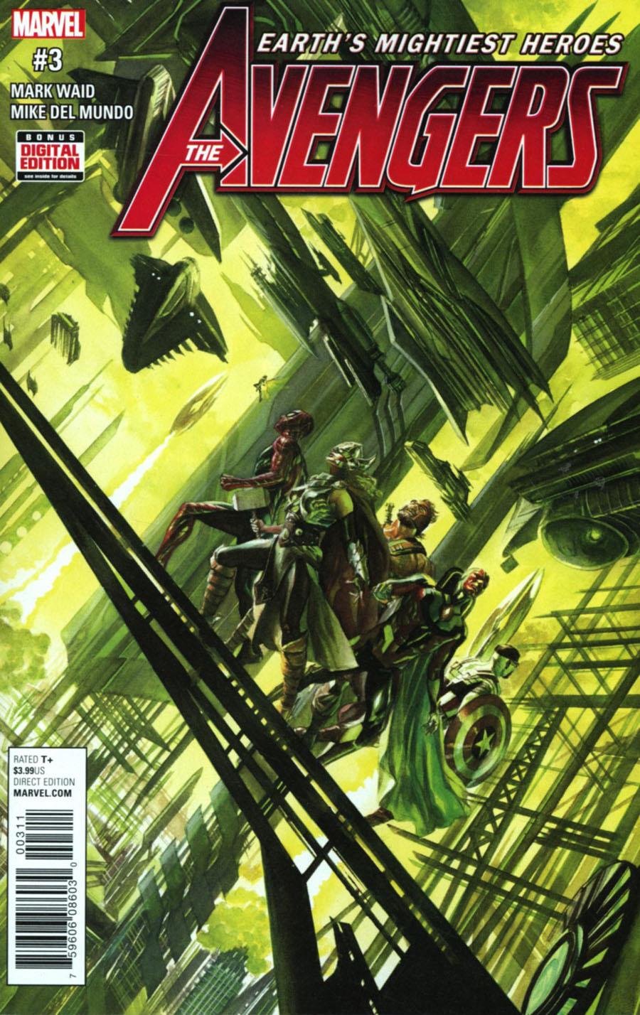 Avengers Vol 6 #3 Cover A Regular Alex Ross Cover